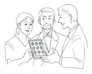 Doctor patient tablet