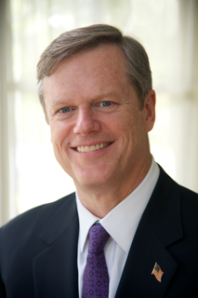 Charlie Baker (R), candidate for Governor of Massachusetts