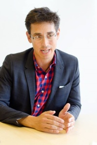 Evan Falchuk (I), candidate for Governor of Massachusetts