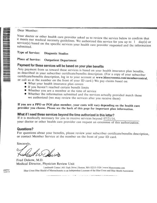 BCBS med letter p 1