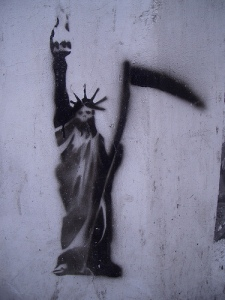 Is Lady Liberty coming to kill your job?