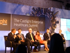 The Cleveland Clinic's CEO Toby Cosgrove took part in a panel discussion. His fellow panelists were a little surprised when he called for provider monopolies