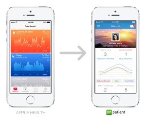 Apple's HealthKit and Drchrono's OnPatient