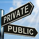 private-or-public-signpost-10067190